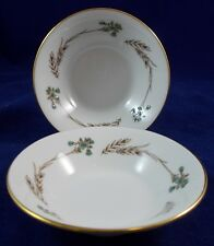 Minton GLENGARRY 2 Fruit/Dessert Bowls S687 LIGHTLY USED GOOD CONDITION