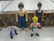 "Lot of 4 Dragon Ball Z figures 3-5"" tall B.S./S. Action Figures Anime"