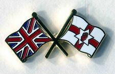50 X union jack and ulster crossed flags lapel badge loyalist orange order loyal
