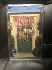 VISION #1 KOREAN EDITION CBCS 8.0 - Super Rare - 2016 - 1st App Virginia,viv,Vin