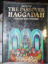 The Passover Haggadah Legends And Customs Religion Judaism Menachem  Hacohen