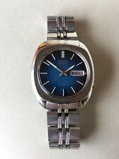 Vintage Seiko Automatic Mens Watch 7009- 831LR VTG 70s Day Date 17 Jewel
