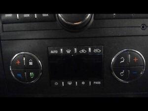 Rear Temperature/Heater/Ac A/C Control 2010 Sierra Truck/Pickup 1500 Sku#2844830