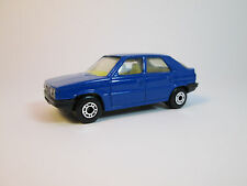 matchbox Renault 11  vintage model old car superfast 1985 Blue No. 33 M:1 :56