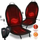 Zone Tech 2x 45 Minute Shut Off Timer 12V Heated Car Seat Chair Cushion