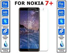 100% Originale Vetro Temperato ULTRA HD Cover protezione schermo per Nokia 7 Plus