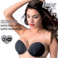 Reggiseno super push up Love and bra segreto trasparente