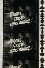 MASK OF THE AVENGER  MONTE CRISTO B & W 16MM FILM MOVIE ROLLED NO REEL C71