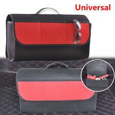 1x Auto Car Rear Trunk Foldable Cargo Organizer Felt Bag Storage Pocket Box Case
