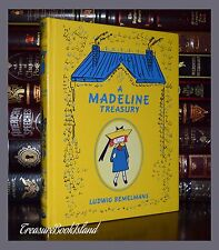 A Madeline Treasury by Ludwig Belmelmans Illustrated New Sealed Leather Bound Ed