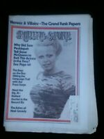 Sally Struthers Rolling Stone Magazine Issue 119,10/12/72 Excellent Condition
