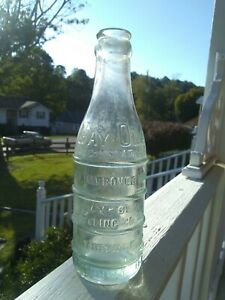 Vintage Gay-Ola cola bottle with issue Wytheville va