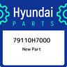 79110H7000 Hyundai 79110h7000 79110H7000, New Genuine OEM Part