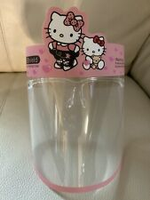 Safety Reusable Face Shield For Kids Anti Splash Anti Fog 1 pair (hello kitty)