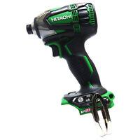 Hitachi 18V Cordless Impact Driver WH18DDL2 (NN) Aggressive Green Body Only New