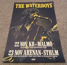 The Waterboys Concert Tour Poster - Sweden Tour Dates