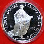 Spanien 5 Ecu 1992 Silber Proof-PP #KM11 F4638 rare Kulturhauptstadt Madrid
