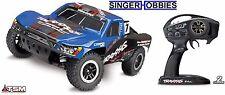 Traxxas 68086-4 1/10 Slash VXL 4WD SC RTR TSM RC Truck BLUE TRA680864D3 HH