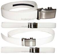 Men's belt, Leather Dress Belt Automatic Sliding Buckle. Genuine leather belt BN