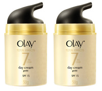 Olay Total Effects 7-in-1 Anti-Aging Gentle Day Cream, SPF 15, 1.7 oz (2 Pack)