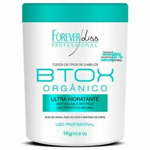 Organic Hair Btox Ultra Mostorizing Mask Forever Liss  Zero 1kg