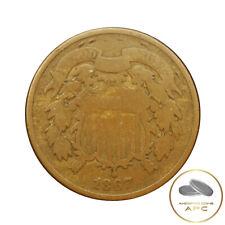 1867 Two Cent Piece Civil War Era Beauty