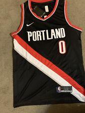 Adidias Portland Trailblazers Damian Lillard Jersey Size Large