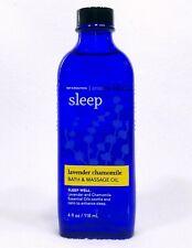 1 Bath & Body Works AROMATHERAPY LAVENDER CHAMOMILE Body Bath Oil Massage