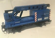 More details for lehmann lgb g gauge matra crane car in blue