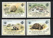 Seychelles-Z.E.S. Tortoise WWF set mnh vf Scott 106-9   40.00