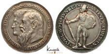 Schützenmedaille, München, Silbermedaille 1910, von Dasio, auf das Feuerschießen