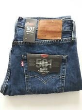 Levis Men's Original 501 Levi's Strauss Denim Straight Fit New Waist Mixed Sizes