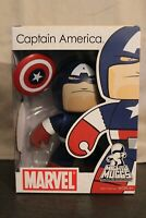 Marvel Comics Mighty Muggs Captain America (2007) Hasbro Chunky Vinyl Figure