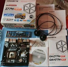 Gigabyte GA-Z77N-WiFi - socket LGA 1155, Mini-ITX, intel Z77 / Bluetooth 2x LAN