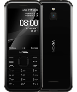 Nokia 8000 4G 2020 Dual Sim Unlocked Cell Phone 4GB KaiOS GPS WhatsApp Facebook