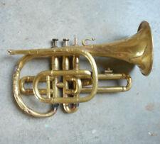 Ancien cornet à Pistons stoelzel de COUESNON - Antique old CORNOPEAN