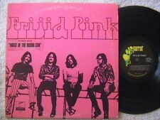 """FRIJID PINK """"FRIJID PINK"""" LP 1970 WITH HOUSE OF RISING SUN STICKER PSYCHEDELIC"""