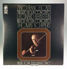 Sibelius Violin Concerto/Bruch Violin Concerto Francescatti/Bernstein VG+ Y33522