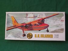 RARE VINTAGE AIRFIX SERIES 2 Britten-Norman ISLANDER MODEL KIT 1/72 #02041