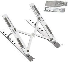 Adjustable Aluminum Laptop Stand For Desk Portable Laptop Riser Laptop Holder