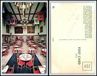 INDIANA Postcard - Bloomington, Indiana University, Memorial Union Tudor Rm Q41