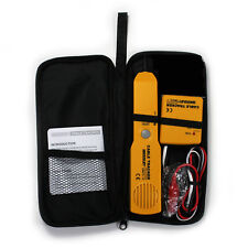Cable Tracker Wire Circuit Tester Telephone Line Detector Portable Cabling Tool