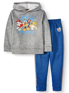 Paw Patrol Boys Hoodie Sweatshirt & Jogger Sweatpants, 2-Piece Outfit Set 5-6