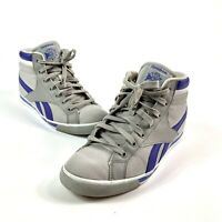 Retro Reebok Men's Classic High Top Lace Up Sneaker Shoes Size 9