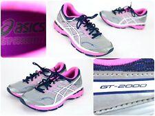 ASICS GT-2000 5 Running Shoes - Silver Pink - Women's Sz 8 1/2 US - T757N -