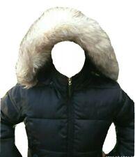 Black Baby Phat Hood Jacket Down Filled Puffer Coat Sz Med Leopard Print Inside