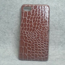 New Brown Alligator PU Coated hard case cover for Blackberry Z10