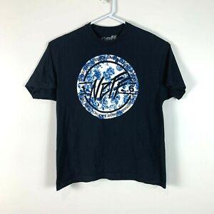 NEFF Black Front Logo Shirt Size Men's XL