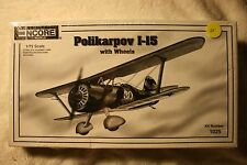 Encore Models Polikarpov I-15 w/ wheels 1/72 scale airplane model kit SEALED