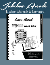 AMI Service Manual Wall Box Model WQ 200 Highest Quality from Jukebox Arcade